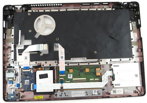 Dell Latitude 5480 Dual Point Palmrest Touchpad W/ Print Reader - A16724
