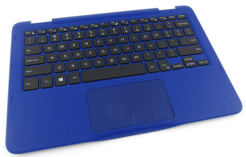Dell Inspiron 11 3168 3169 Blue Palmrest Touchpad Keyboard - NGRGR