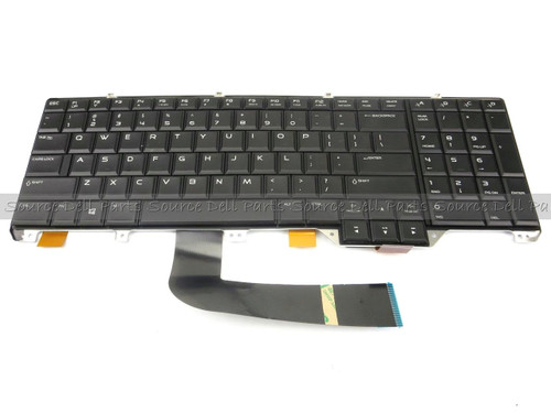 Alienware 18 Laptop Black Replacement LED Back-Lit Keyboard -  M8MH8 (A)
