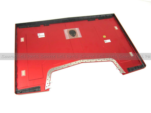 "Alienware M18x 18.4"" Red LCD Back Cover Lid - J1C2G"