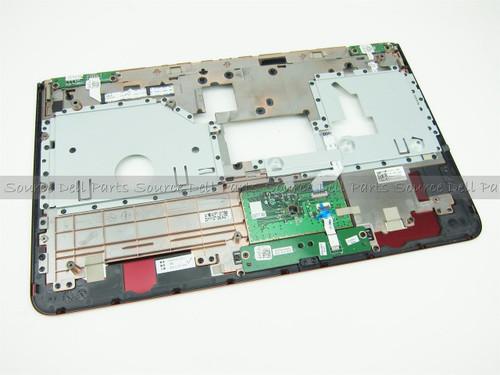 Dell Inspiron 14z N411z Red Palmrest & Touchpad Assembly - V6T1C