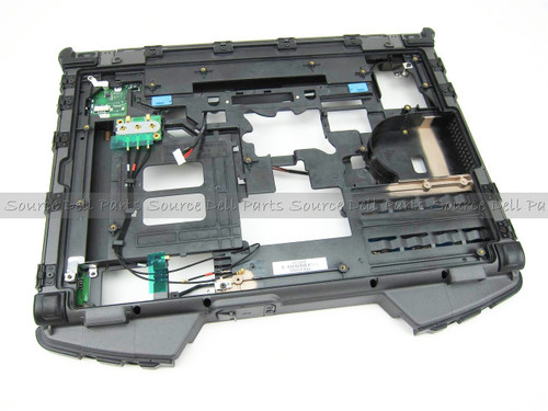 Dell Latiude E6400 XFR Rugged Bottom Base Assembly - W535M