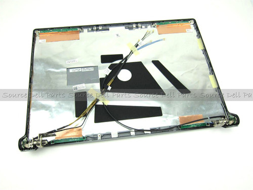Dell Studio 1735 1737 Blue LCD Back Cover Lid & Hinges - P581X
