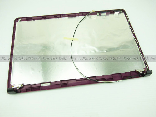 "Dell Inspiron 1750 Purple 17.3"" LCD Back Cover Lid - G2CNN"