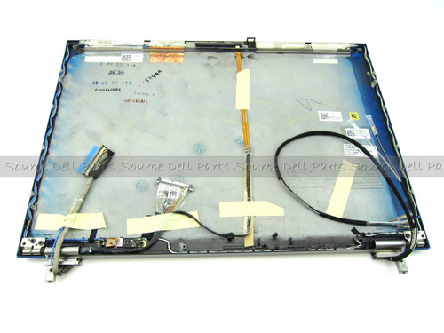 "Dell Latitude E6500 Blue 15.4"" LCD Back Cover Lid & Hinges - R280G"