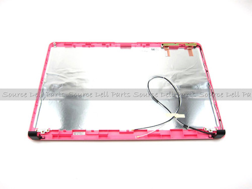 "Dell Inspiron 1750 Pink 17.3"" LCD Back Cover Lid - HKGDC"