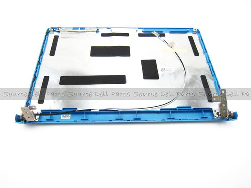 "Dell Inspiron 1464 Blue 14"" LCD Back Cover Lid & Hinges - XR2H0"