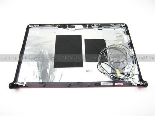"Dell Studio 1745 1747 1749 17.3"" Pink LCD Back Cover Lid - RJHC3"