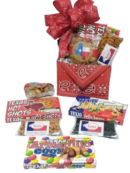 The Texas Bandana Sweets Gift Box