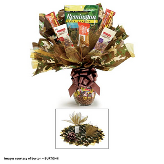 Large Camo Candy Bouquet