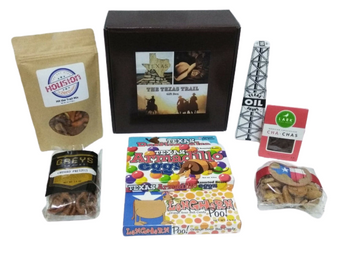 Texas Trail Gift Box Contents