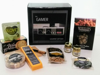 The Gamer Gift Box contents