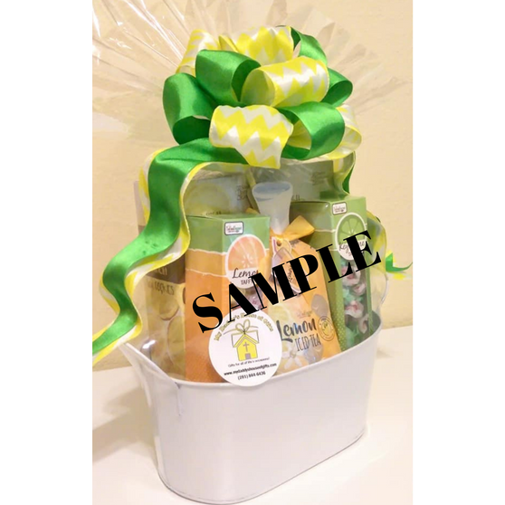 Small REALTOR Open House Gift Basket With FREE Open House Flyer