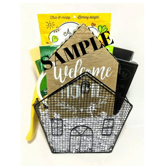 Medium REALTOR Open House Gift Basket with FREE Open House Flyer