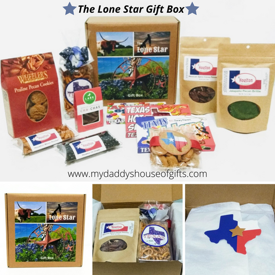 Lone Star Gift Box Collage