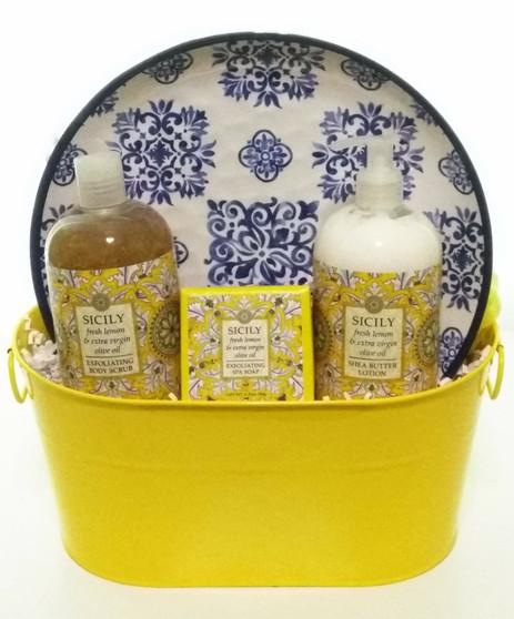 Sicily and Lemon Spa Gift Tin
