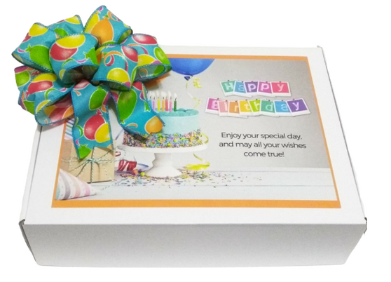 Birthday Gift Box with Bow