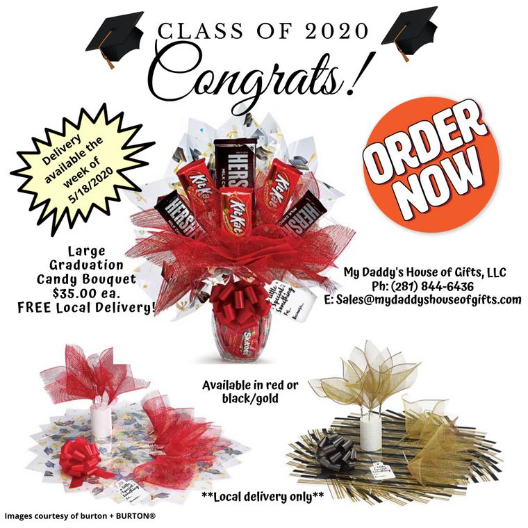 Large Graduation Candy Bouquet