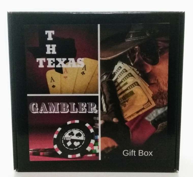 The Texas Gambler Gift Box