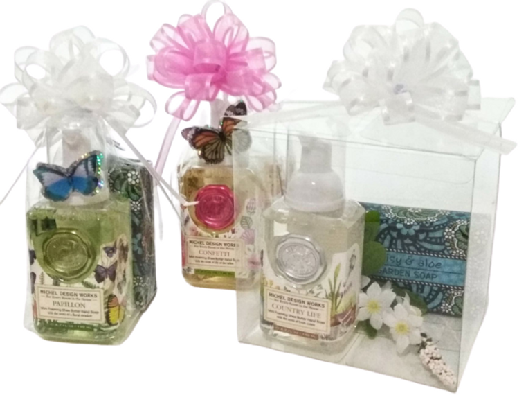 """Upgrade to a clear 5""""x5"""" acrylic gift box for $5.00 more"""