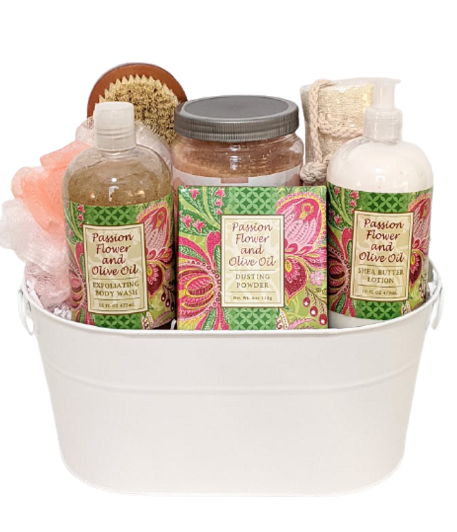 Passion Flower and Olive Oil Gift Tin