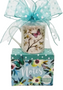 Blue Floral Boxed Notecards with Mug