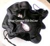 Black Velvet Drawstring Jewelry Pouch 6 Inside Pockets Four Corners USA OnLine SP-09015