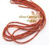 3mm Heishi Apple Coral Organic Beads 22 Inch Strand AC-13010 Four Corners USA OnLine Jewelry Making Beading Supplies