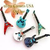 Whimsical Guitar Pendants