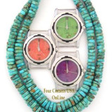 Mohave Purple Turquoise Mens Watches