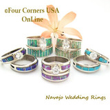 Navajo Engagement Wedding Ring Sets On Sale Now