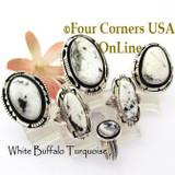White Buffalo Rings