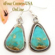 Showy Turquoise Earrings On Sale