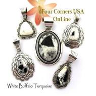 White Buffalo Pendants
