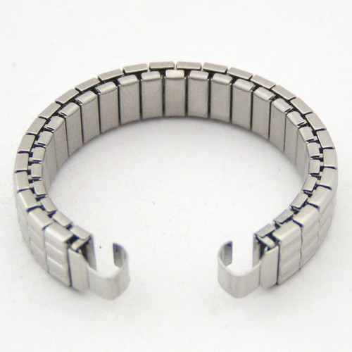 Womens Replacement Stainless Steel Watchband 3 1/2 inch For Native American Watch Tips NAW-BANDW3.5 (NAW-BANDW3.5)
