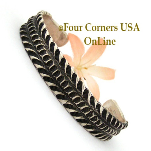 Sterling Silver Cuff Bracelet Navajo Emerson Bill Native American Jewelry On Sale Now Four Corners USA OnLine NAC-1441