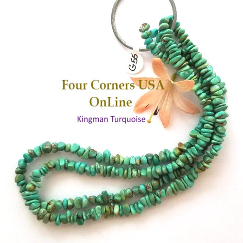 5mm Kingman Turquoise Nugget Bead Strands Group 55 Four Corners USA OnLine Designer Beading Jewelry Making Supplies