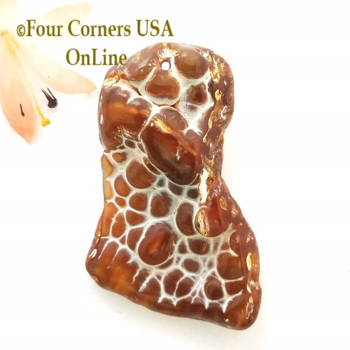 Florida Agatized Fossil Coral No 15 Jewelry Component Special Buy Final Sale BDZ-1934 Four Corners USA OnLine Jewelry Making Beading Craft Supplies