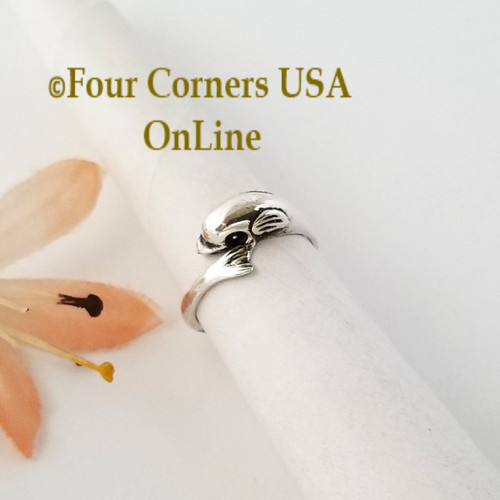 Dolphin Sterling Silver Adjustable Toe Ring Closeout Final Sale Four Corners USA OnLine Artisan Jewelry