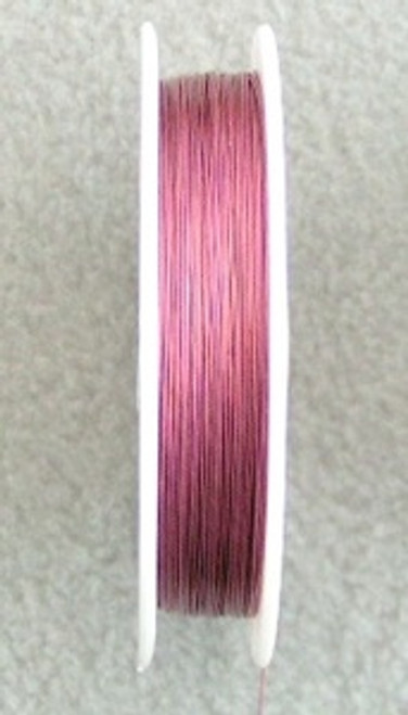 Beading Wire Pink 7-Strand .015 328 Feet - Final Sale (STR-09006-PNK)