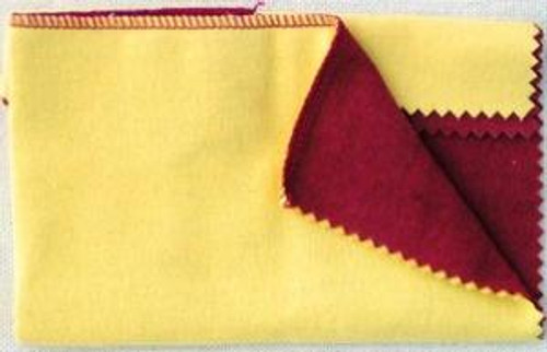 Jeweler's Rouge Treated Double Ultimate Polishing Cleaning Cloth 10 Inch Surface