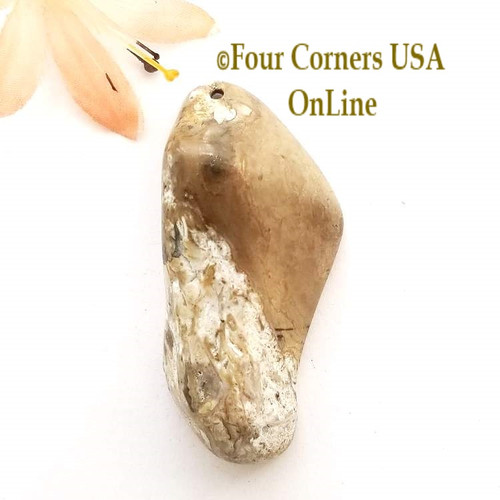 Florida Agatized Fossil Coral No 10 Jewelry Component Special Buy Final Sale BDZ-1926 Four Corners USA OnLine Jewelry Making Beading Craft Supplies