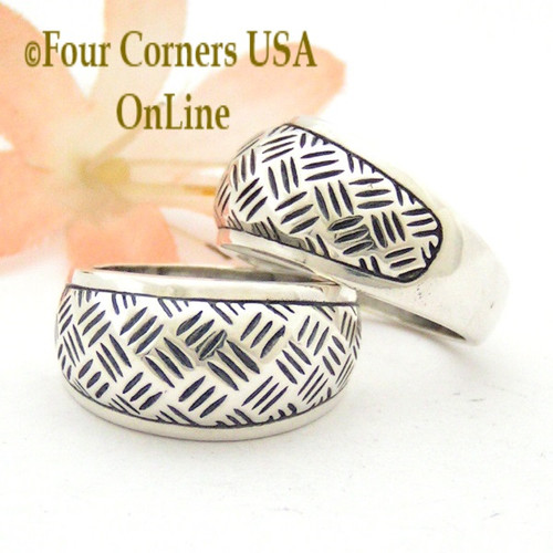Size 7 Basket Weave Sterling Silver Ring Southwest Spirit Collection Made in USA Closeout Final Sale Four Corners USA OnLine
