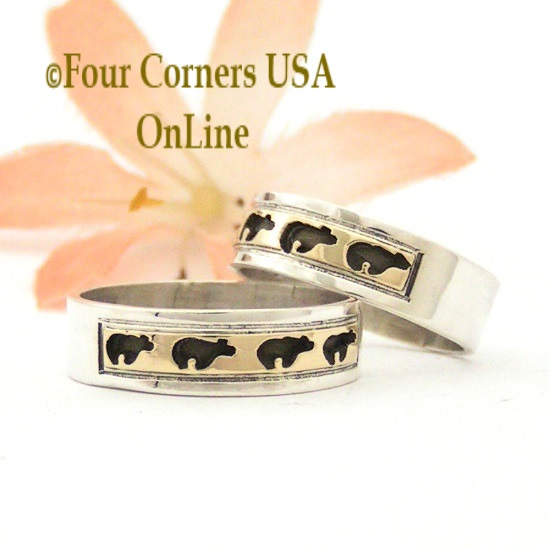 Navajo Skeets Family Rings On Sale Now at Four Corners USA OnLine