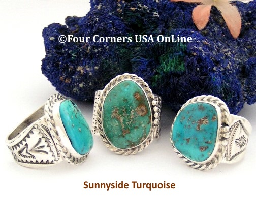 Native American Rings for Men and Women Four Corners USA OnLine Jewelry