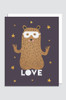 (5 PACK) LOVE Greeting Card