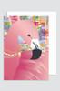 'Sweet Dreams - Flamingo' Greeting Card