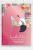 Sweet Dreams Flamingo prints is a stretched canvas with personalised details added in a beautiful handwritten font at the bottom. The pink flamingo is elegant in its stance and poses in front of a background made up of pink, yellow, blue and aqua shapes that overlap. Gold highlights can been to add a sense of sparkle.