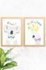 'Koala & Cockatoo' Wildlife Prints (2 Pack)   |  Kids Wall Art