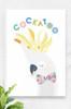 'Cockatoo' Canvas   |  Kids Wall Art
